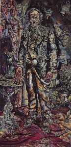 The Picture of Dorian Gray (1943), by Ivan Albright, oil on canvas.