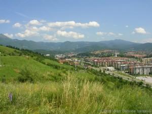 View of Dobrinja, Sarajevo.