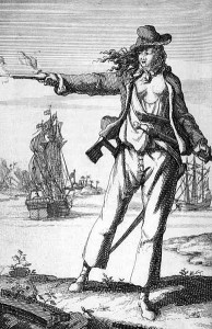 An 18th century engraving of Geertje von Wolff.