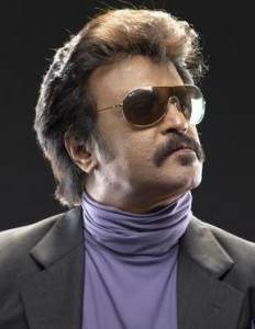 South Indian film superstar, RajiniKanth.