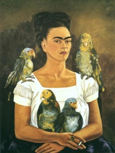 Frida Kahlo, Me and My Parrots