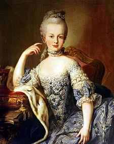 Marie Antoinette at age 13 by Martin van Meytens, 1767.