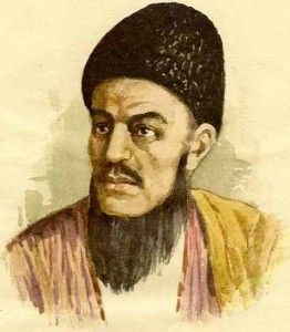 Makhtumkuli, or Magtimguli, Magtymguly, was a Turkmen spiritual leader and philosophical poet, born 1733 in Iran, died 1797.
