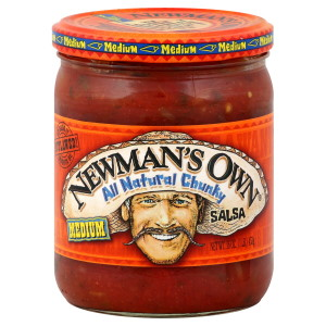 'Atop the highest point, about / four meters up, an empty jar / of Newman's Salsa gave a snout /  to that strange upward-sniffing creature.'