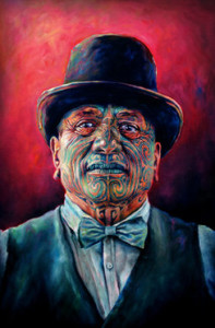 Tame Iti (2012) by Sofia Minson.